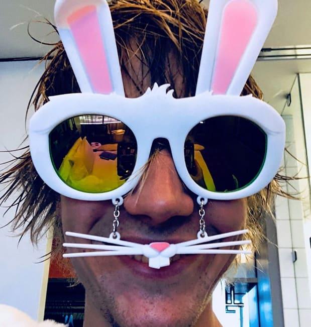 Justin Bieber, Bunny Mask