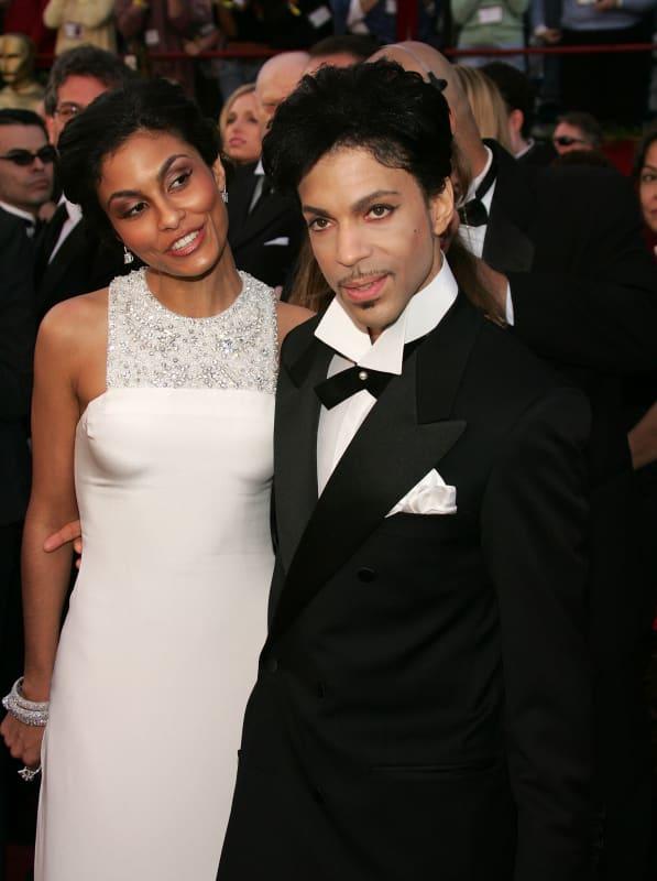Prince and Manuela Testolini: 77th Annual Academy Awards