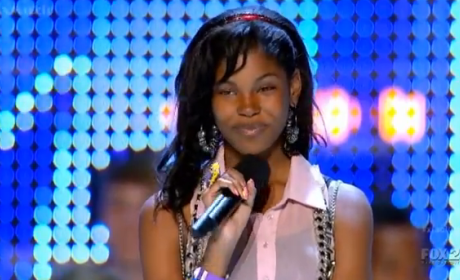 Which Teen put on the best first live show performance?
