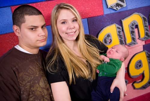 Jonathan Rivera and Kailyn Lowry