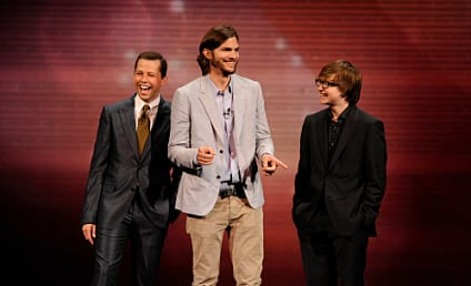 Ashton Kutcher on Two and a Half Men: Jackpot!