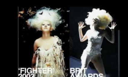 Team Christina Calls Out Team Gaga: Who's a Copycat Now?!?