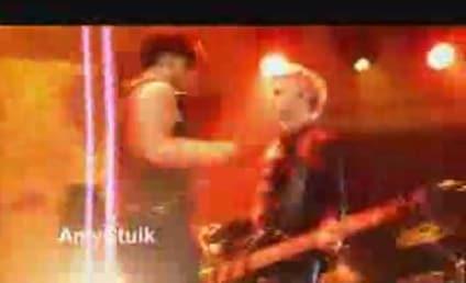 Adam Lambert: In Purple, Pot-Filled Haze