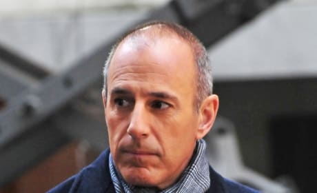 Sad Matt Lauer