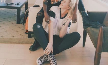 Ireland Baldwin and Angel Haze: Kissing on Twitter!!!