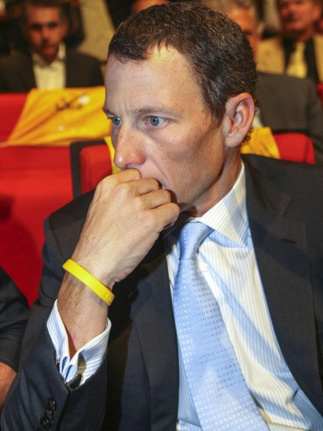 Lance Armstrong in Thought
