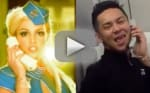 "Awesome Flight Attendant Makes Like Britney Spears, Recreates ""Toxic"" Video"