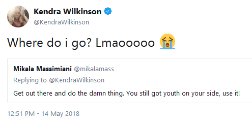 Kendra Wilkinson doesn't know where to meet people
