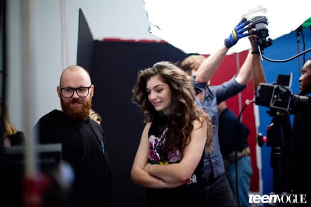 Lorde in Teen Vogue