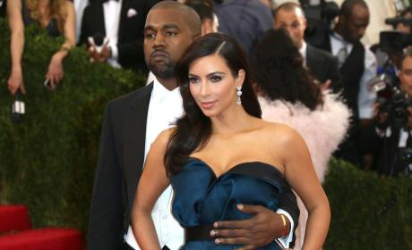 Kanye and Kim at MET Gala