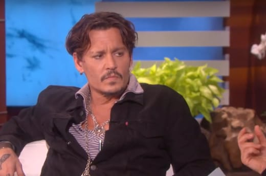 Johnny Depp on Ellen