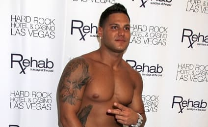 Ronnie Magro Gets New Tattoo, Ups Douche Quotient