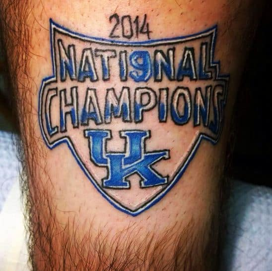 Kentucky Championship Tattoo