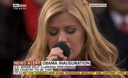 Kelly Clarkson Inauguration Performance: No Lip-Synching Here!