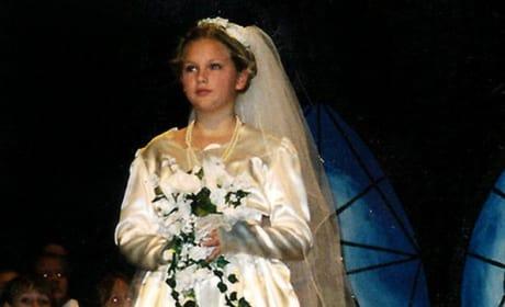 Taylor in a Wedding Dress