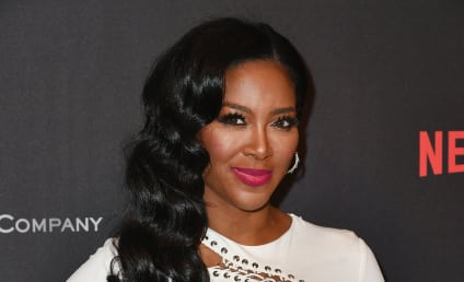 Kenya Moore: Married! Possibly Soon to Be Fired!
