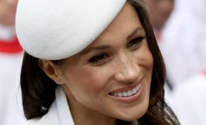 Meghan Markle Makes First Official Appearance with The One and Only Queen