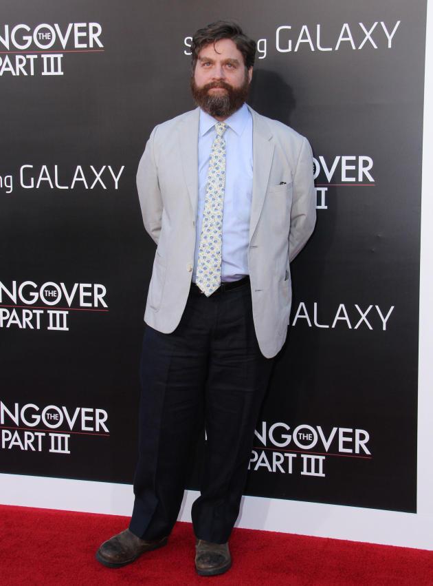Zach Galifianakis at Hangover Premiere