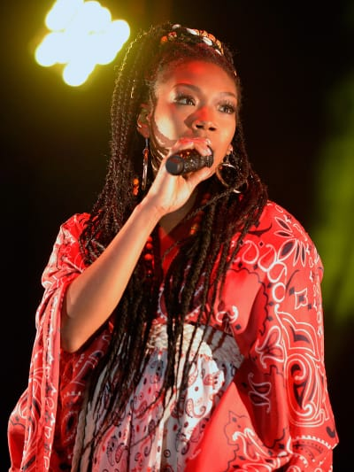 Brandy on Stage