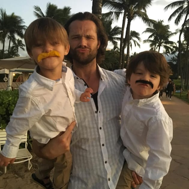 Jared Padalecki and Kids - The Hollywood Gossip