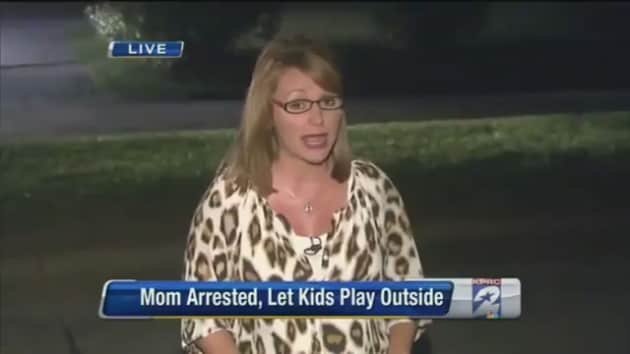 Arrested For Letting Kids Play Outside