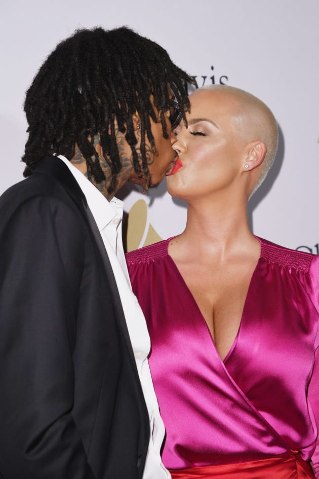 when did wiz khalifa and amber rose started dating