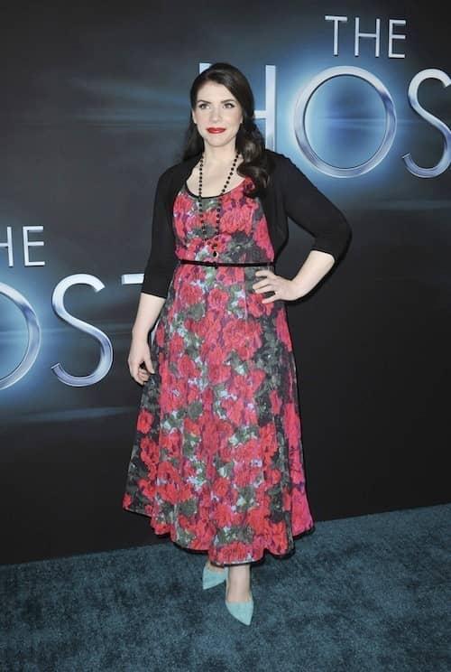 Stephenie Meyer at Host Premiere