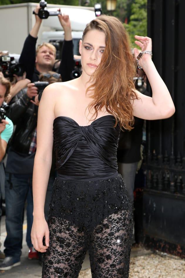 Kristen Stewart with Lace