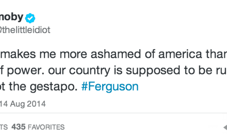 Celebrities React to Events in Ferguson, Missouri