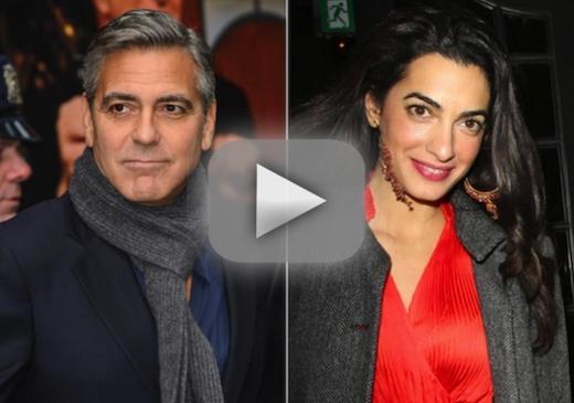 Amal Alamuddin: Engaged to George Clooney! - The Hollywood ...