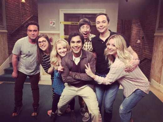 The Big Bang Theory Cast Photo for Season 12