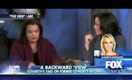 Elisabeth Hasselbeck Fires Back at Rosie O'Donnell, Joy Behar