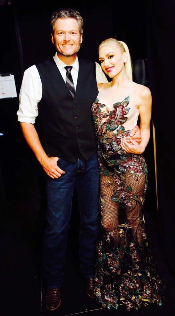 Blake shelton and gwen stefani dating