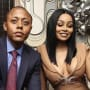 Walter Mosley and Blac Chyna
