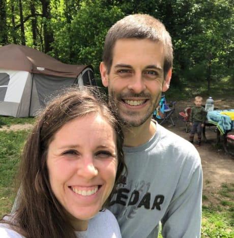 Jill Duggar and Derick Dillard Celebrate