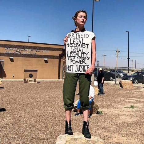 Amber Heard Protests