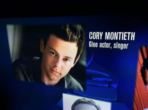 Cory Monteith Grammy Tribute