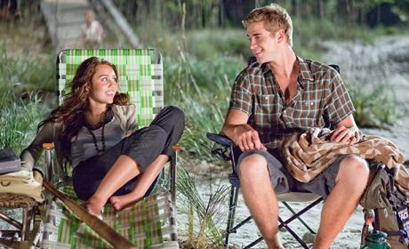 Liam and Miley in The Last Song