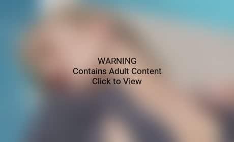 Rosie Huntington-Whiteley Nip Slip