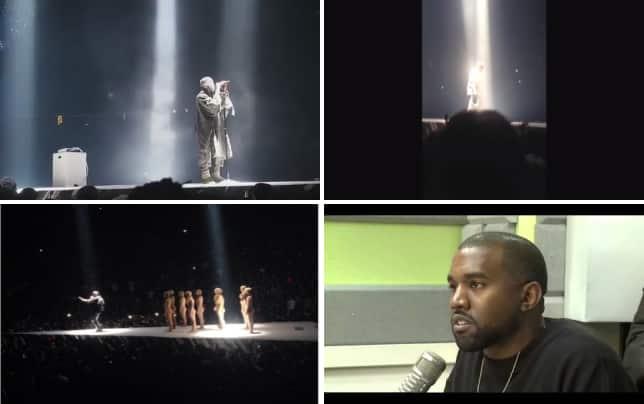 Kanye west rant respect me