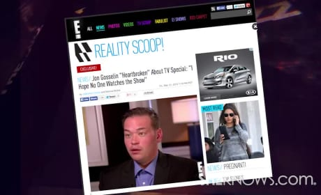 Jon Gosselin: OUTRAGED at Kate, TLC!