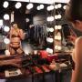 Kendall Jenner black lingerie