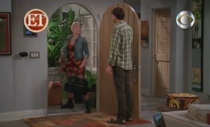 Miley Cyrus on Two and a Half Men: Sneak Peek!