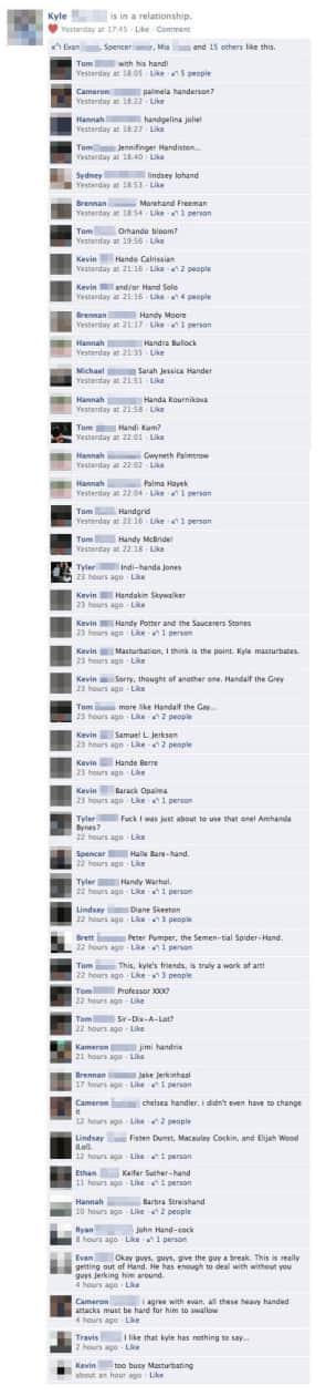 Facebook Joke