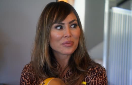 Kelly Dodd doesn't know what to say