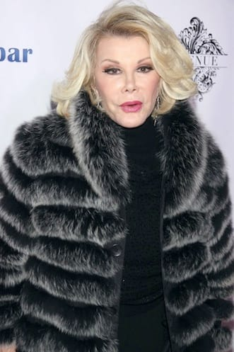 Joan Rivers in Mink