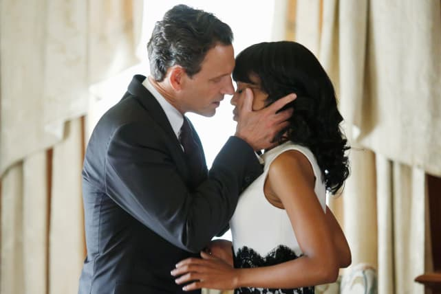 Olivia Pope and Fitzgerald Grant