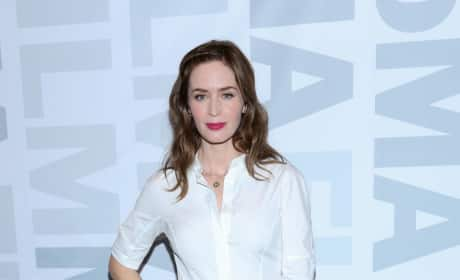 Emily Blunt: 'Sicario' Screening at MoMA