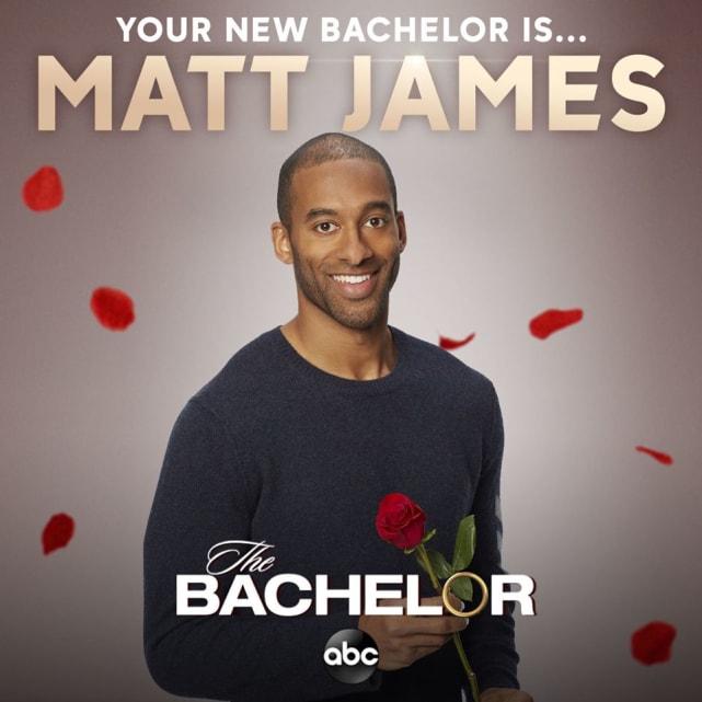 Matt james as the bachelor