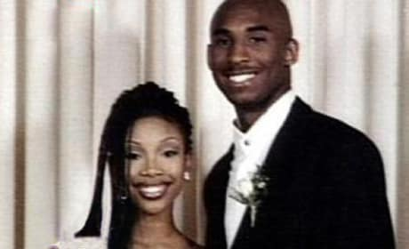 Kobe Bryant, Brandy Prom Photo